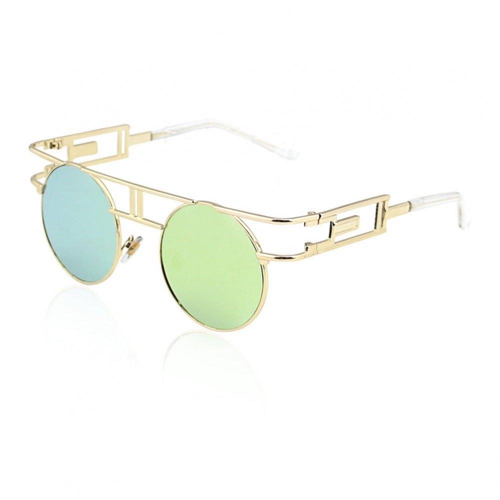 Слънчеви очила кръгли робот рамки