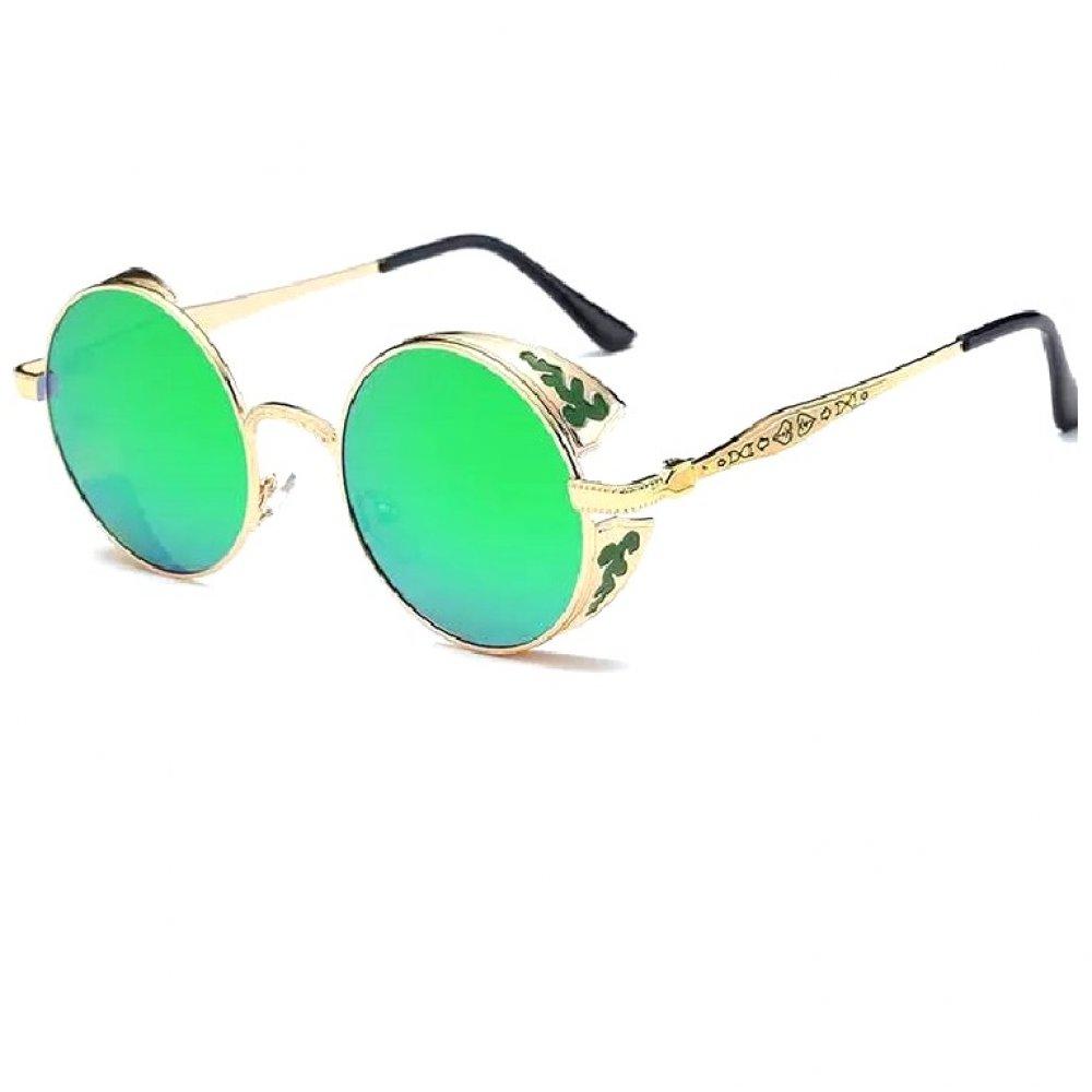 Слънчеви очила със зелени стъкла