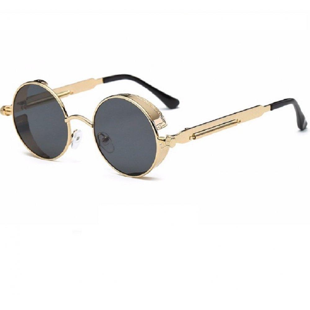 Слънчеви очила в жълто с пружини