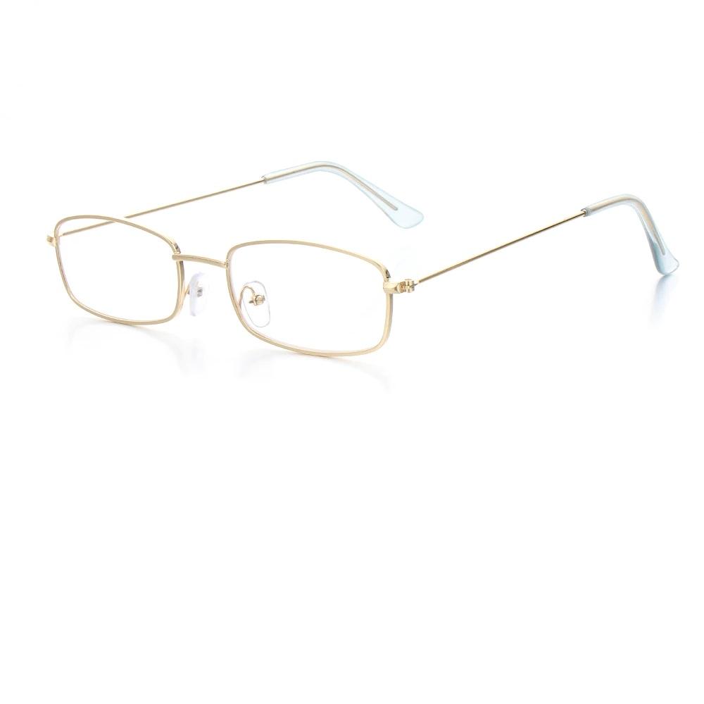 Очила тънки правоъгълни рамки