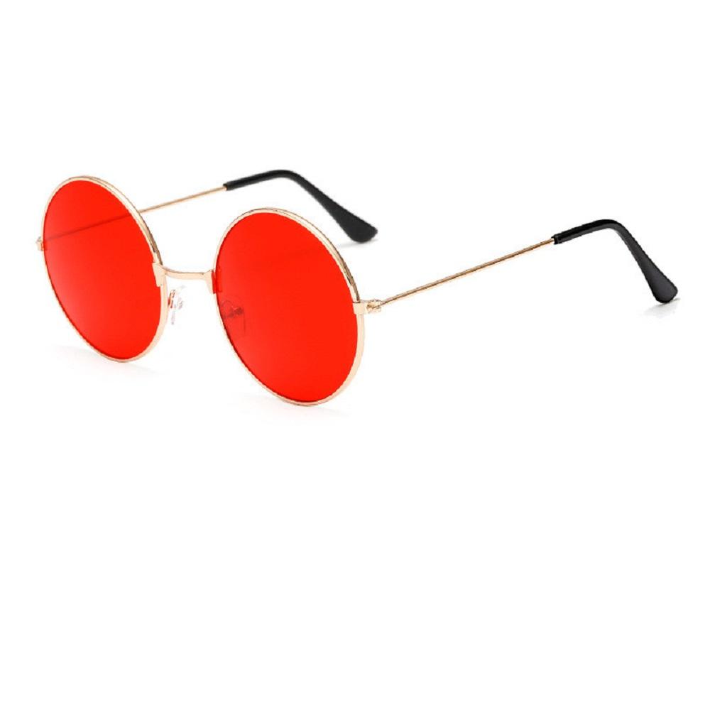 Слънчеви очила с червени стъкла