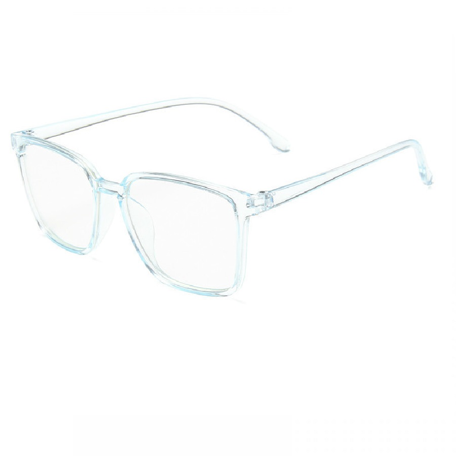 Очила с бледо синя рамка
