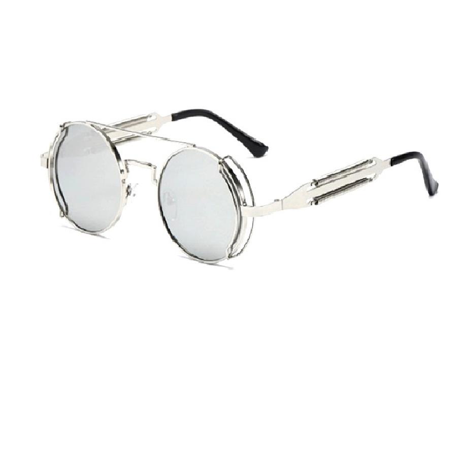 Огледални очила с пружини с страничен кръг на рамките