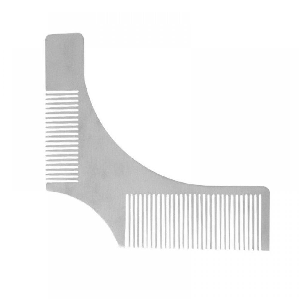 Стоманен гребен шаблон за брада