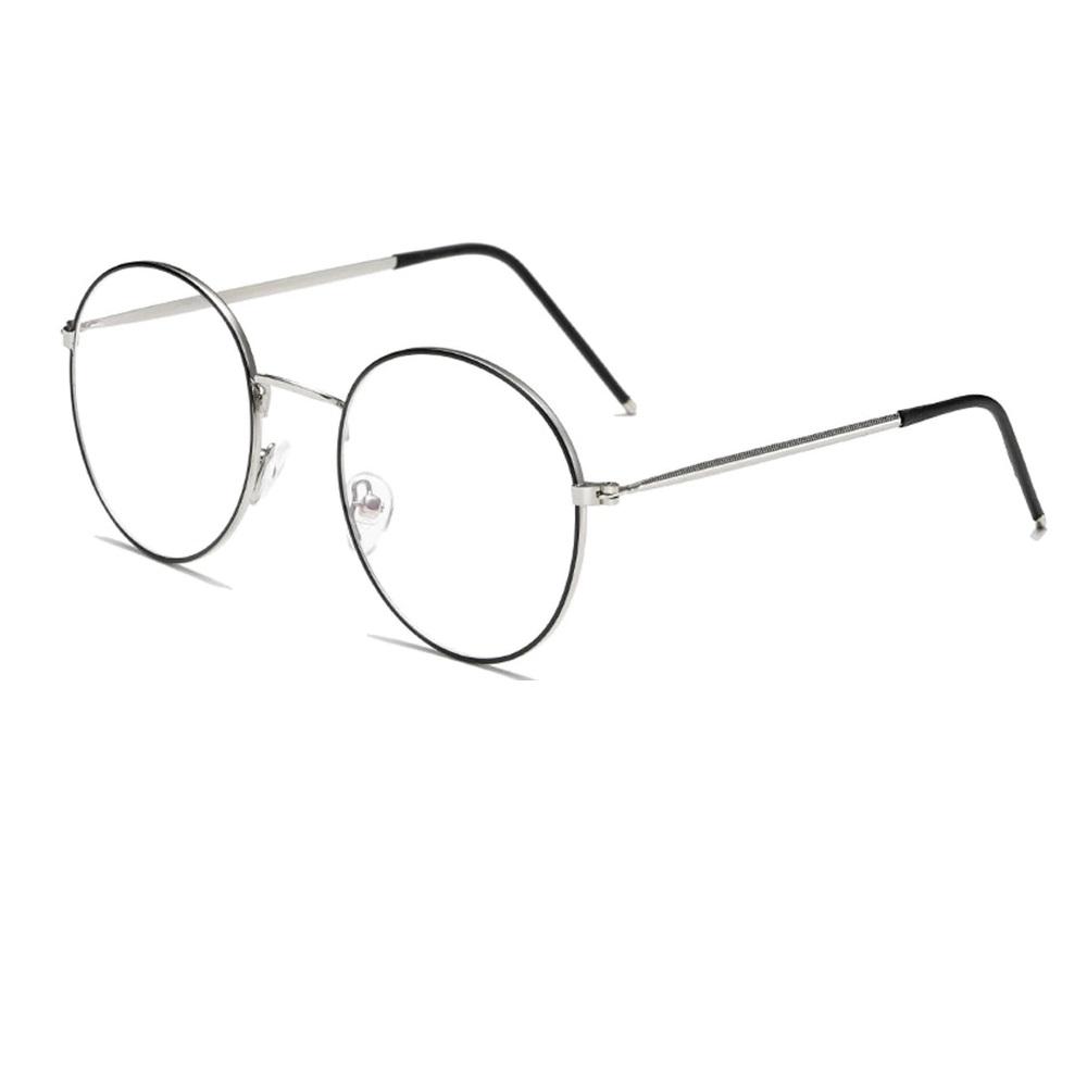 Тъмно бели прозрачни очила