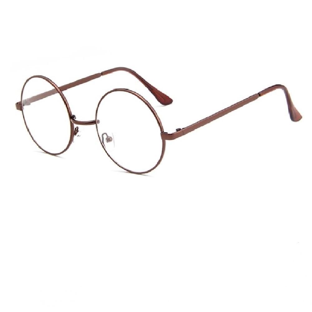 Кръгли очила с прозрачни стъкла 5 сантиметра