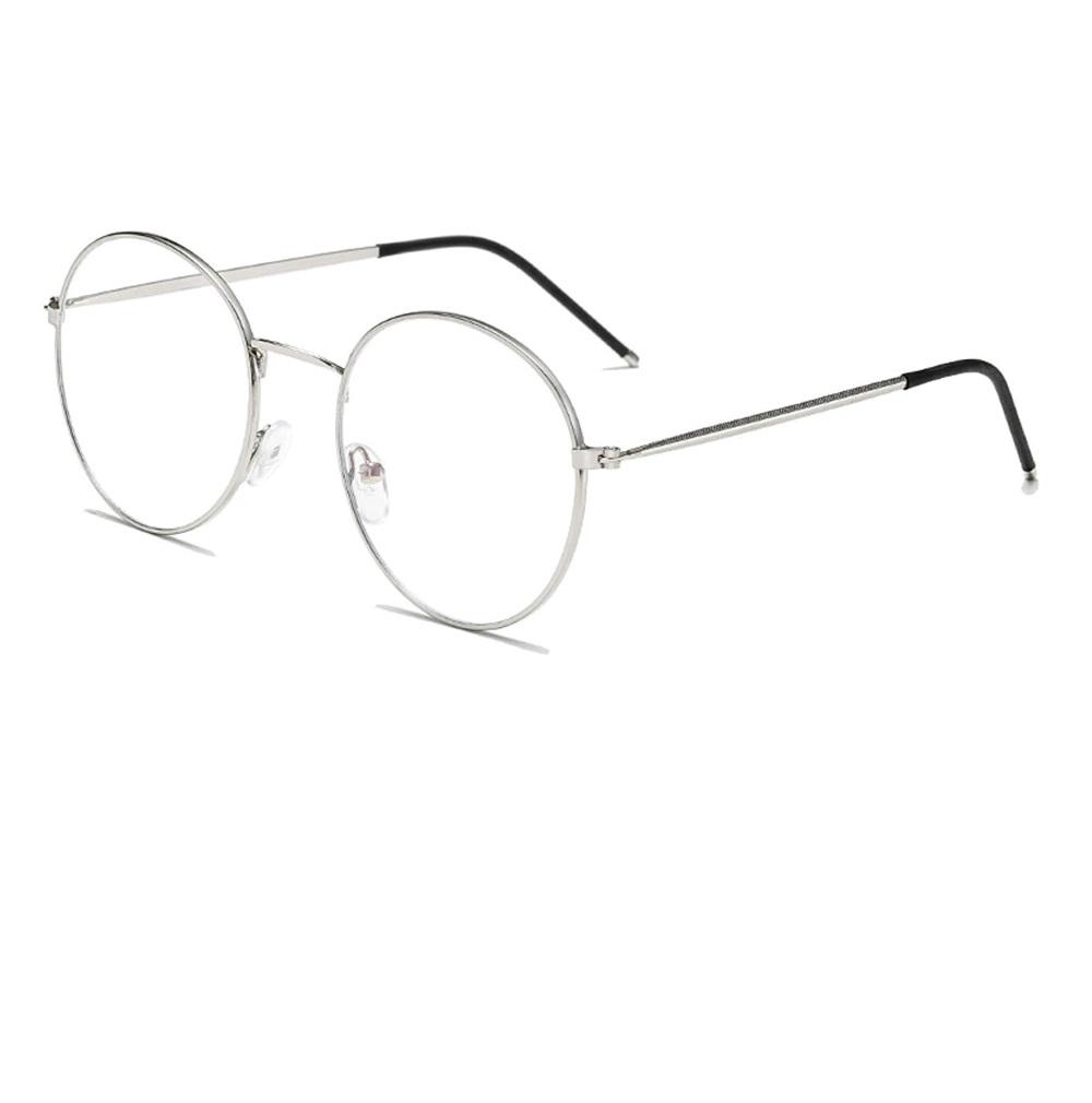 Очила бяла рамка антирефлексни стъкла