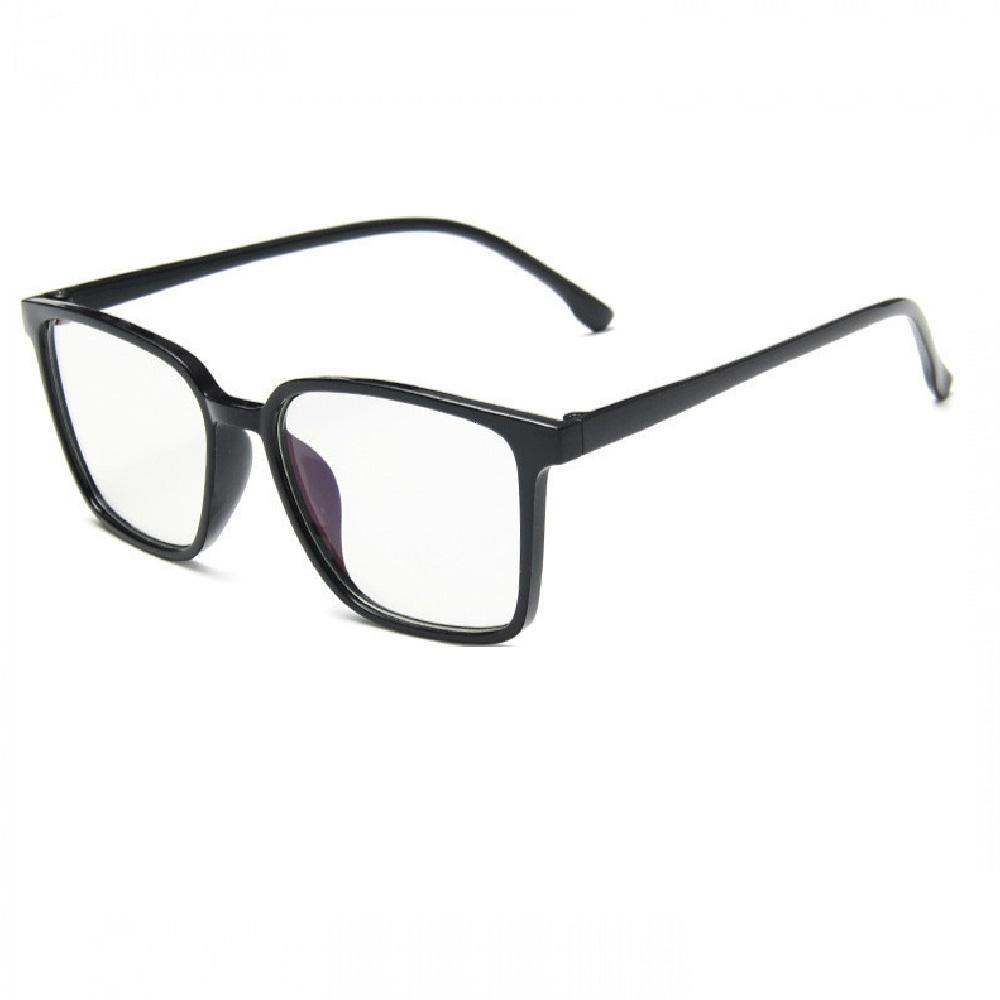 Очила с големи стъкла черна рамка