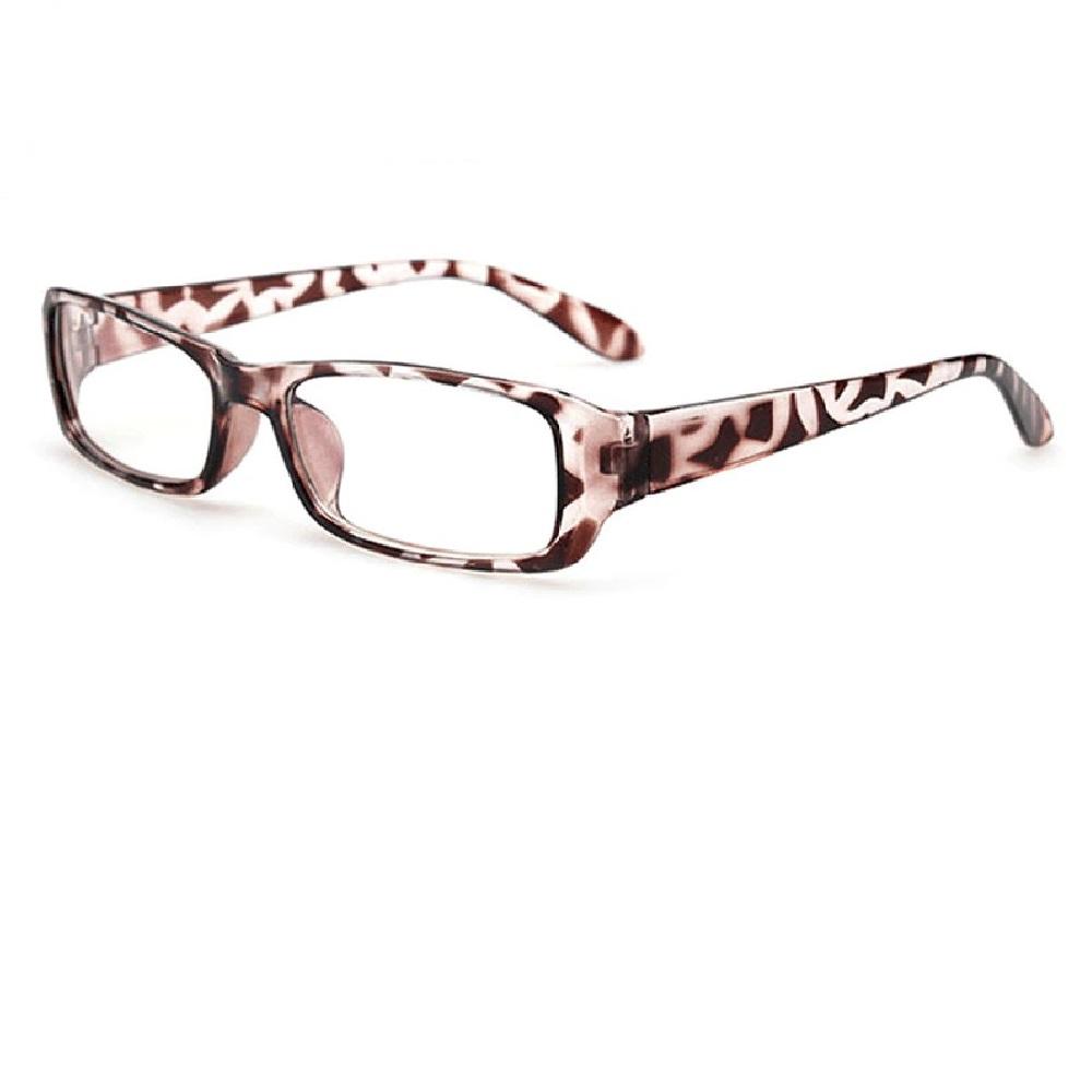 Очила с прозрачни стъкла тигрови рамки