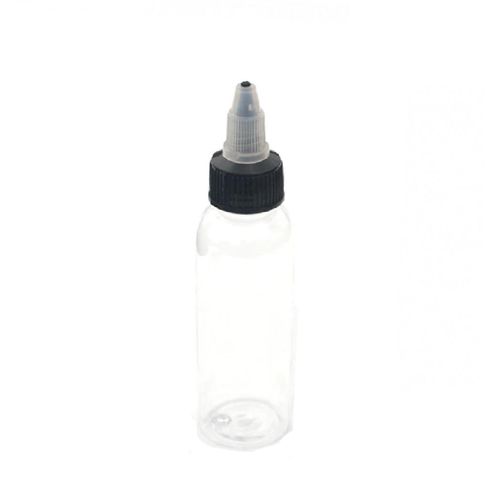 Празна бутилка за боя и разредител