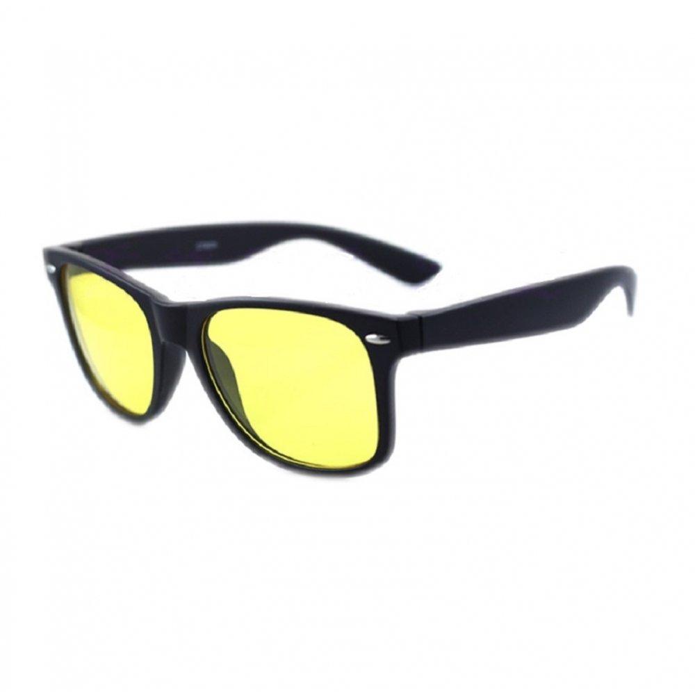 Черни очи със свело жълти стъкла
