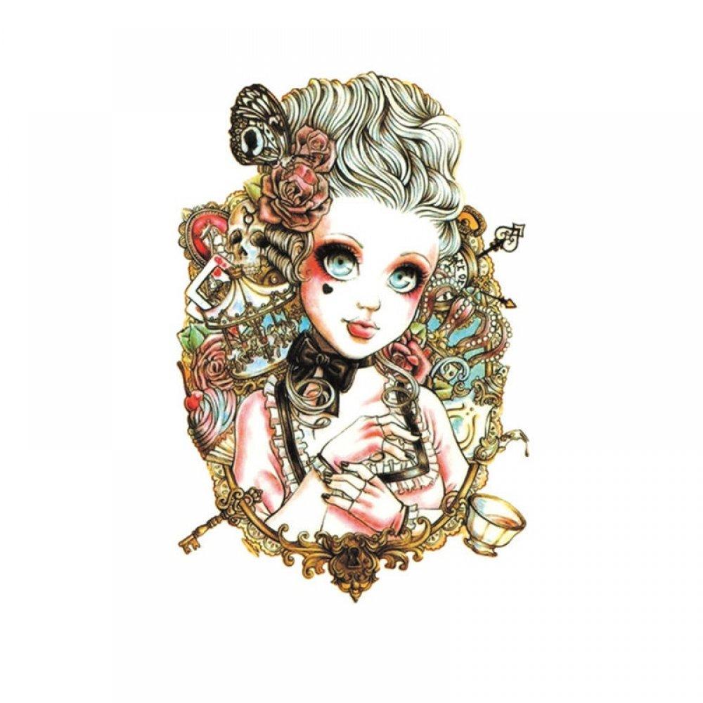 Дамска временна татуировка