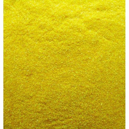 Брокат за нокти 10 грама в жълто