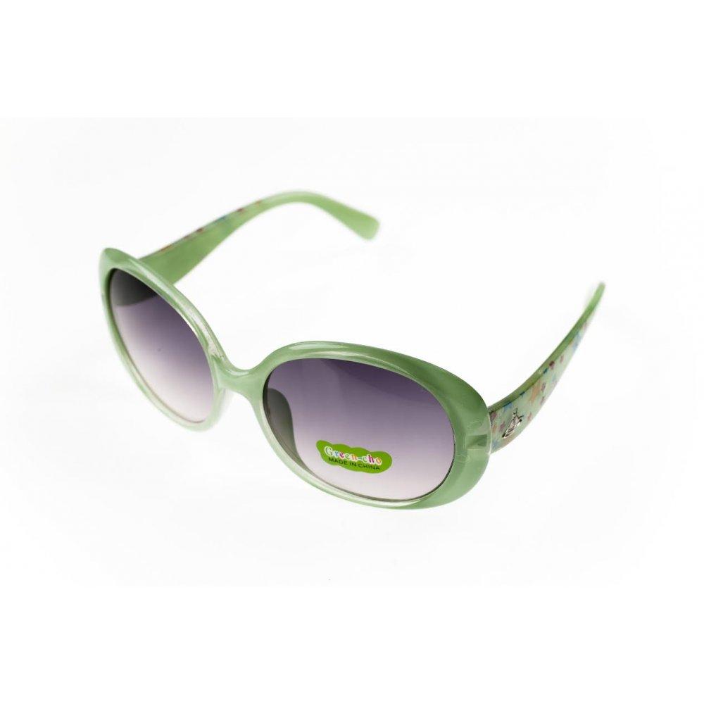 Детски изсветляващи очила със зелени рамки