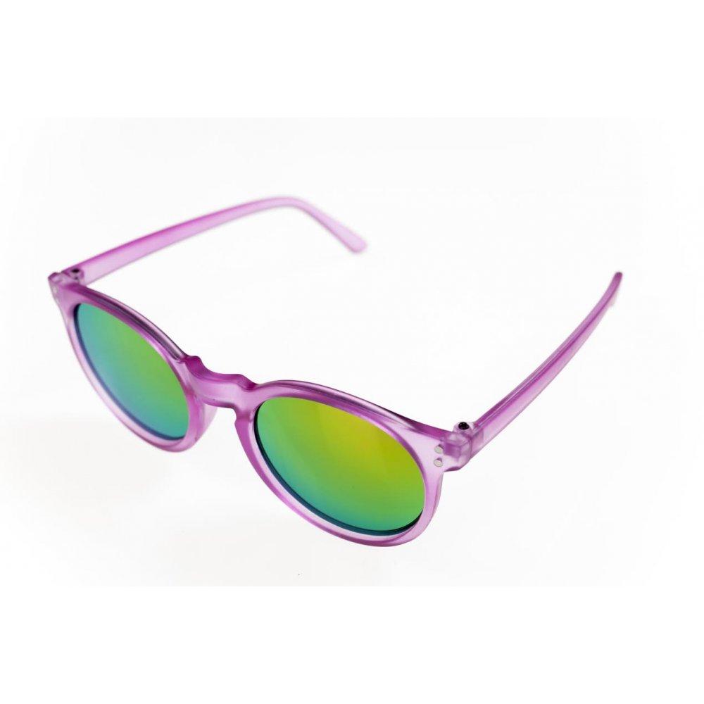 Детски огледални цикламени очила