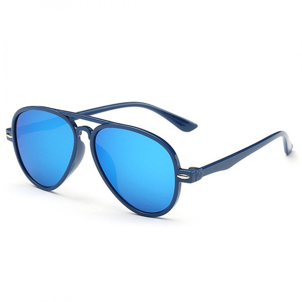 Детски сини очила със сини стъкла