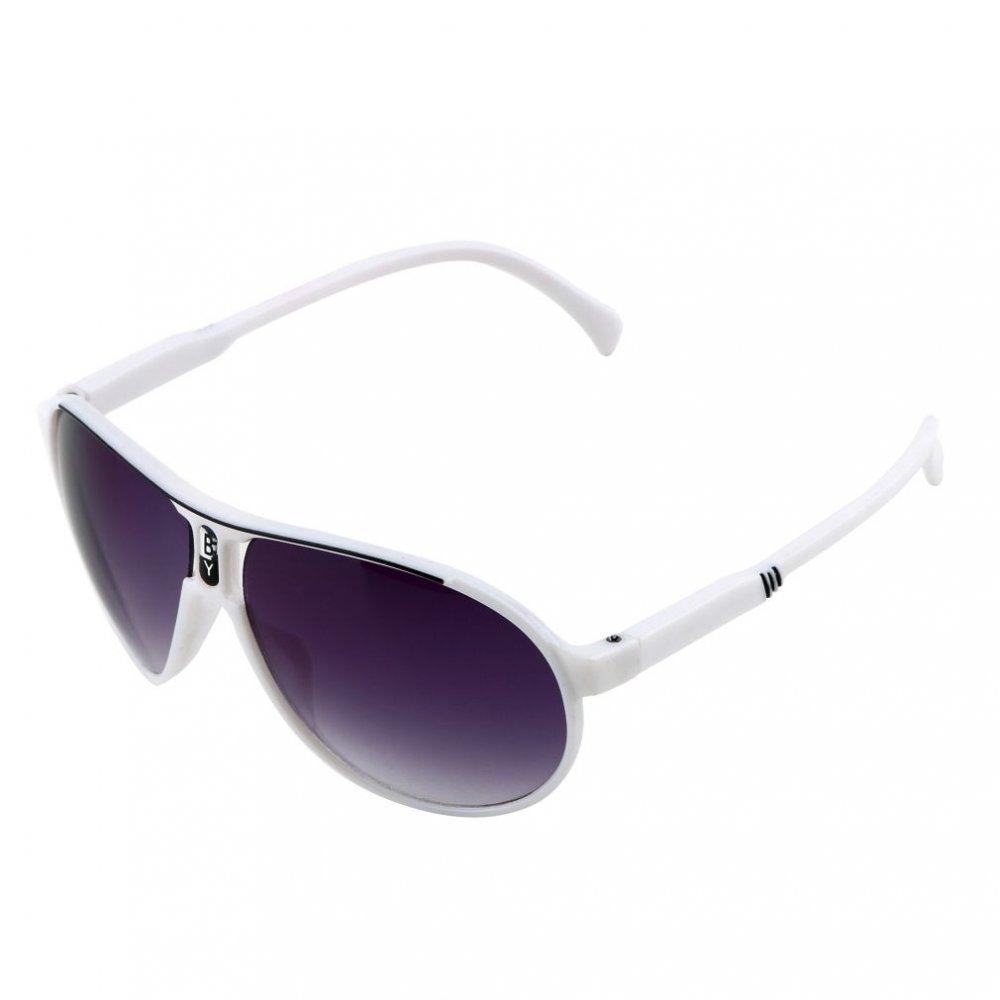 Детски слънчеви очила изсветляващи бяла рамка