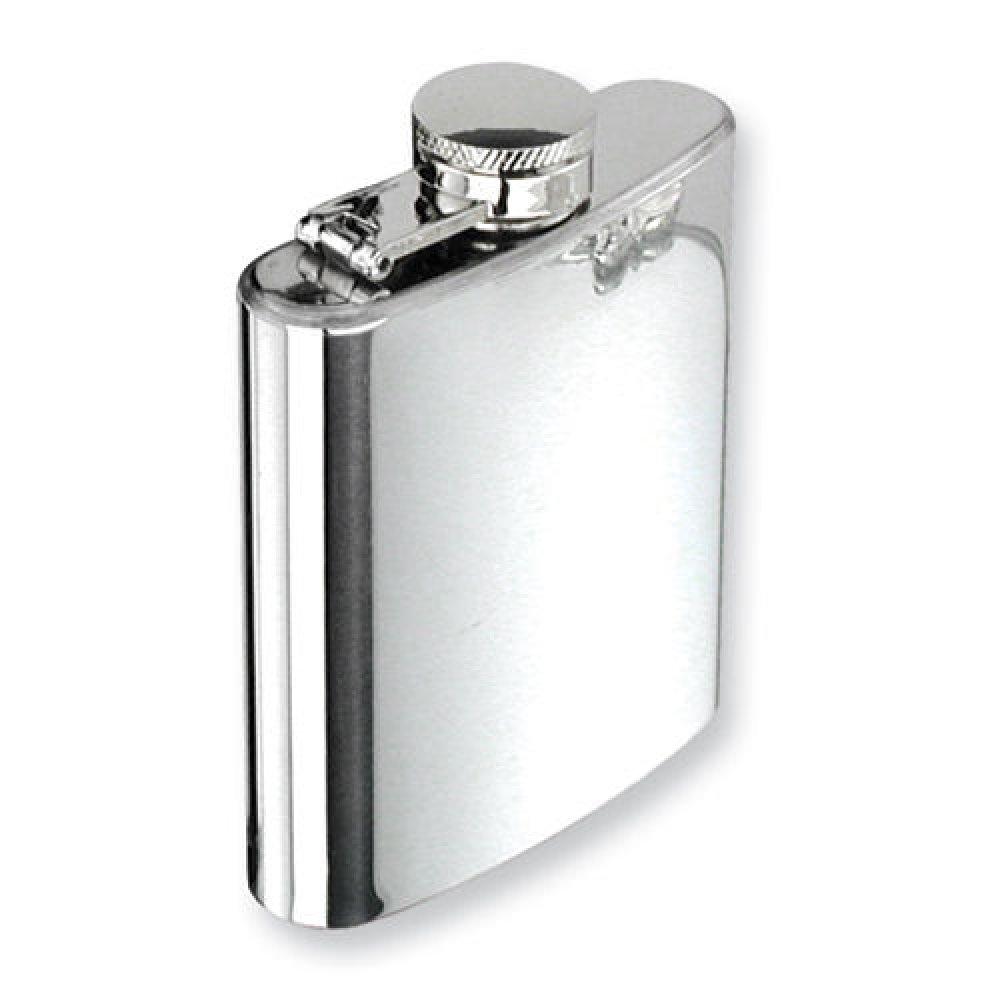 Джобна бутилка 120 милилитра квадратна форма