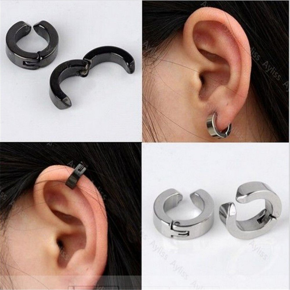 Хамелеонова обеца за ухо със защипване
