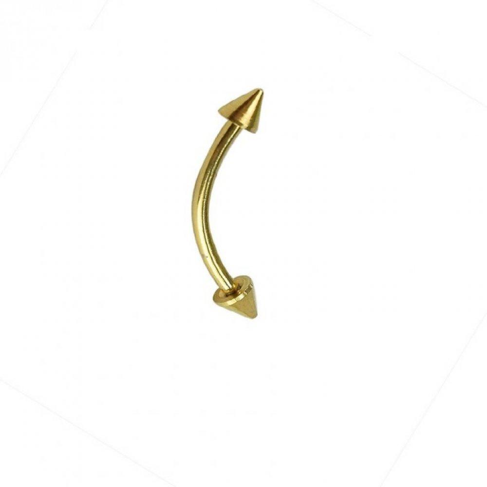 Имитация на златна обеца