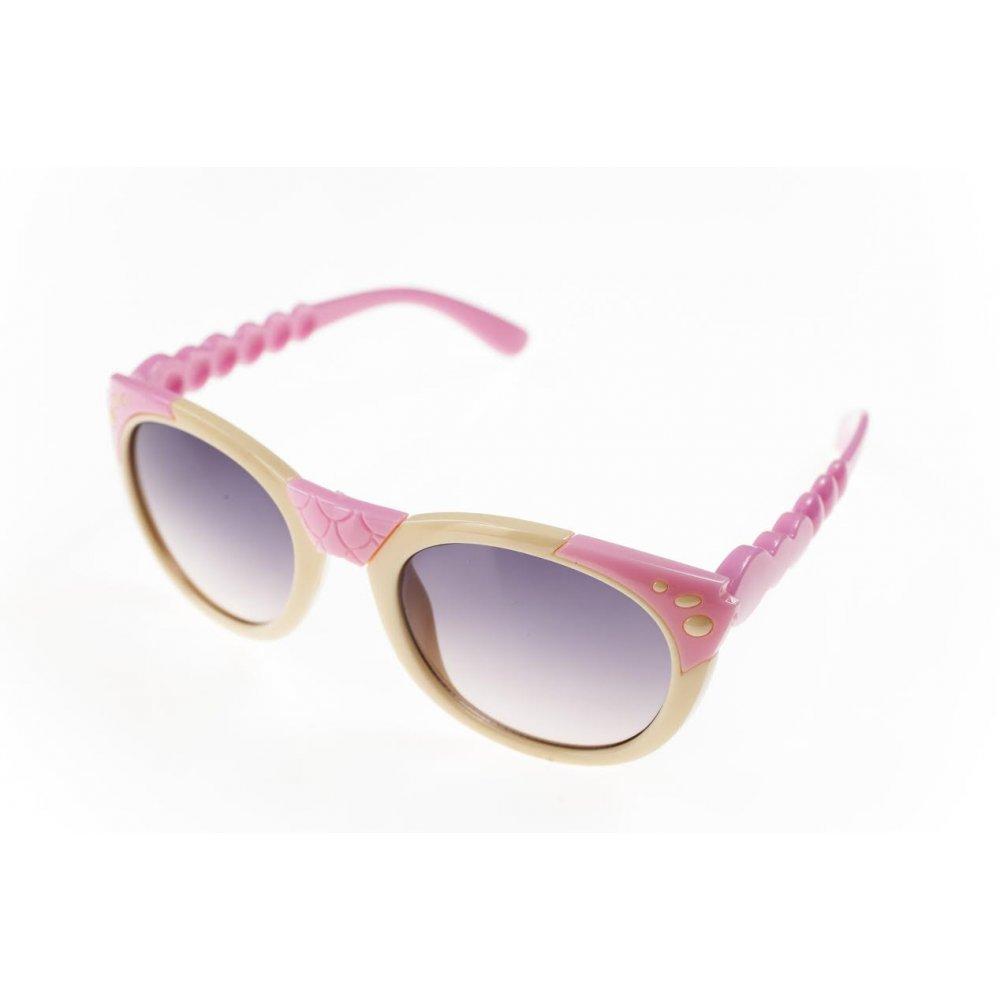 Изсветляващи детски очила в розово и бяла