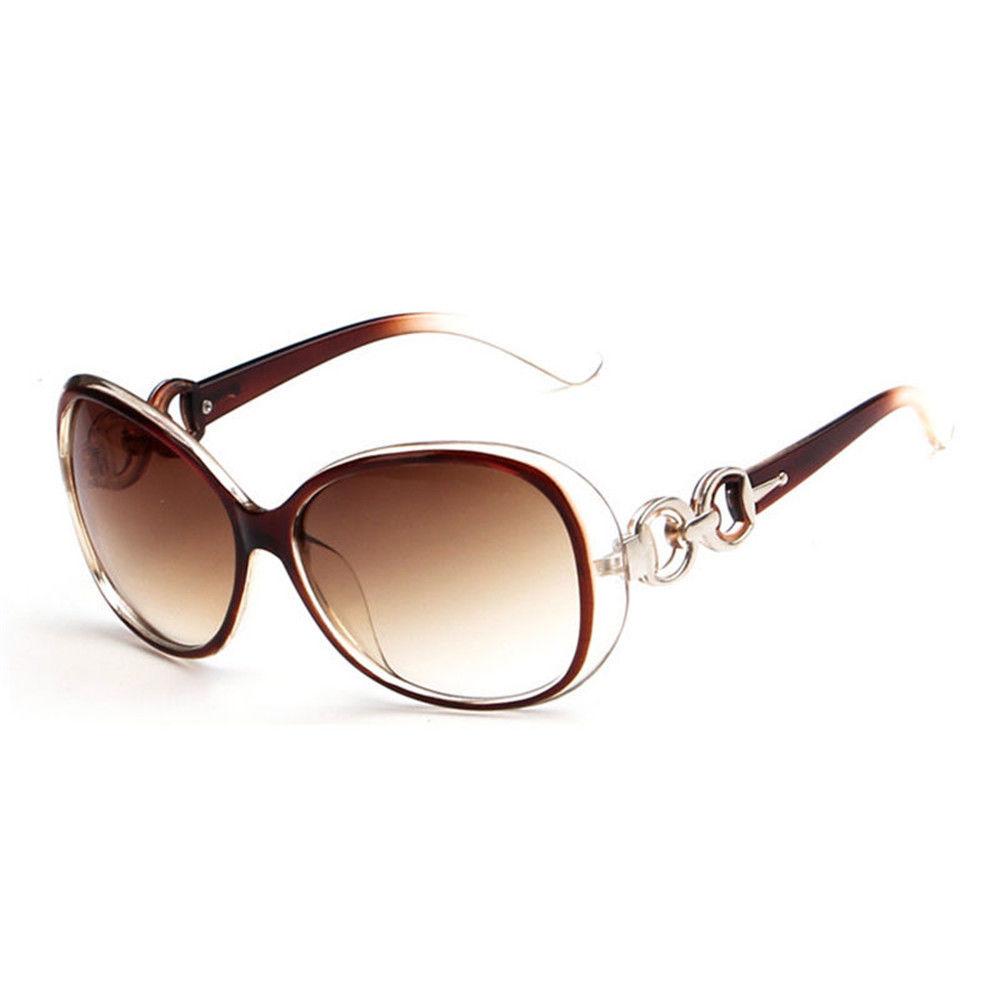 Кафяви очила тип пеперуда