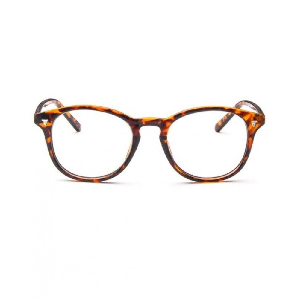 Кехлибарен цвят прозрачни очила