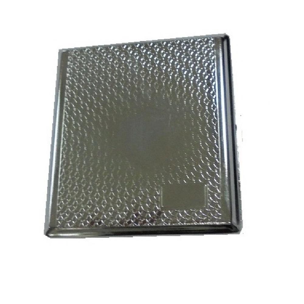 Класическа огледална метална табакера