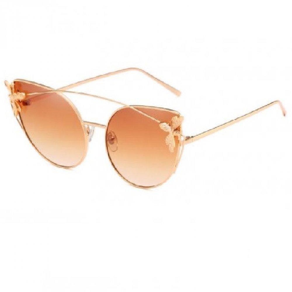 Котешки очила с муха на рамките
