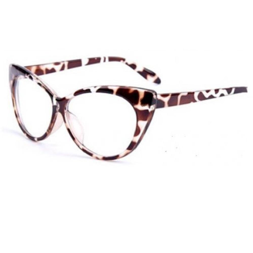 Котешки очила с прозрачни стъкла