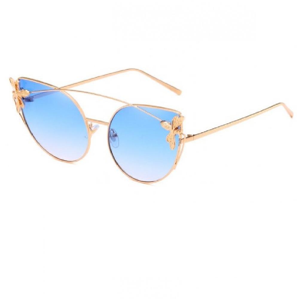 Котешки сини очила