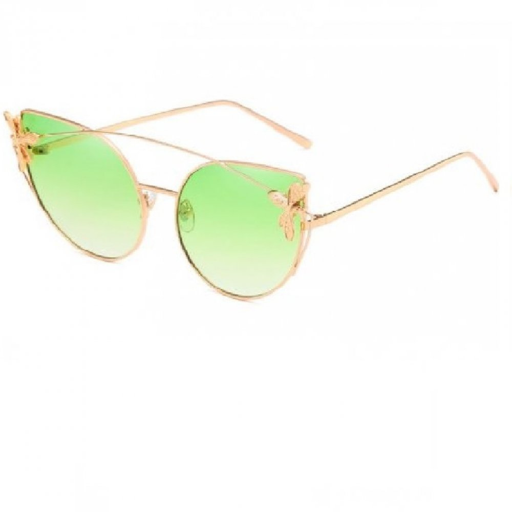 Котешки зелени очила