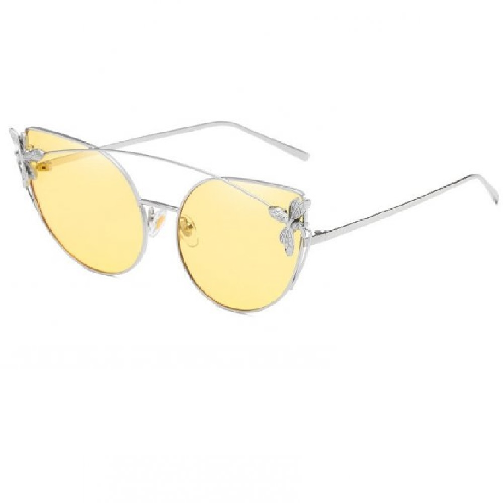 Котешки жълти очила