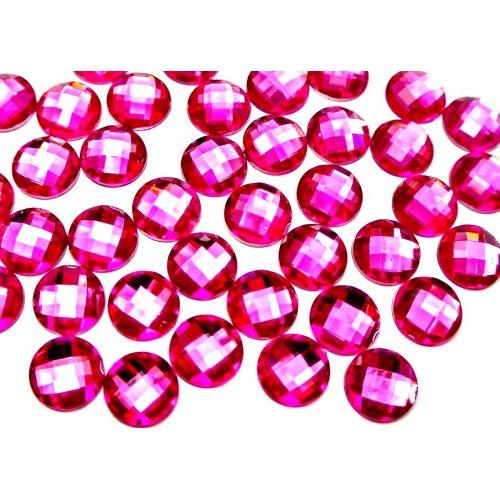 Големи цикламени кристали за маникюр