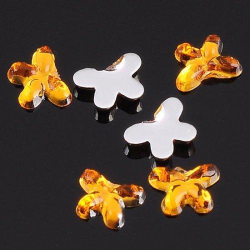 Декоративни златни перепуди за декорация на нокти 2 милиметра