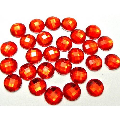 Големи червени кристали за маникюр