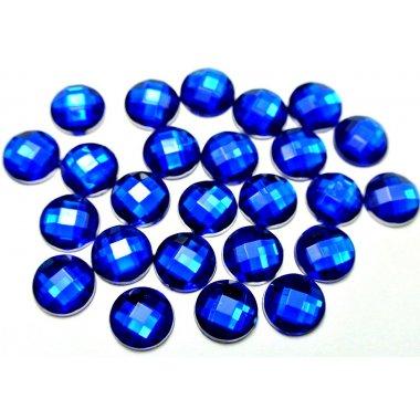 Големи сини кристали за маникюр