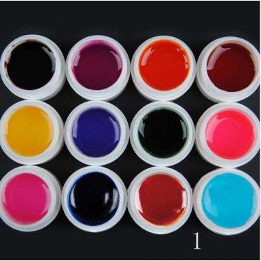 12 цвята UV гелове