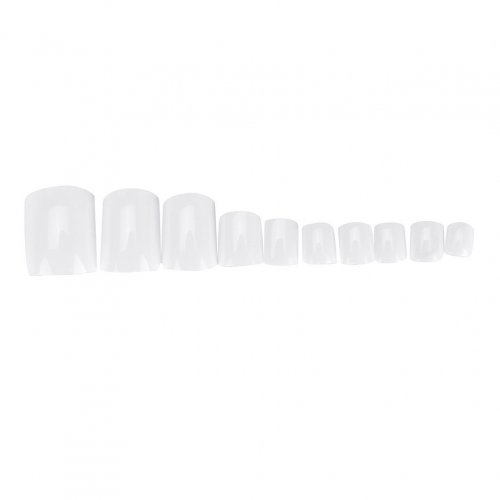 Бели нокти за маникюр