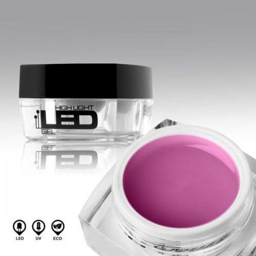 LED гел в лилаво