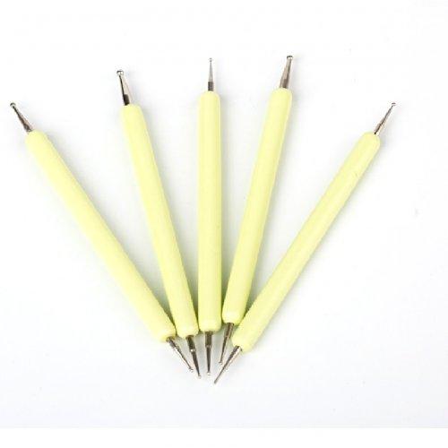 Комплект точкатори в жълто