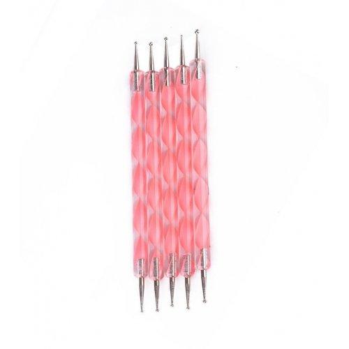 Комплект точкатори в розово