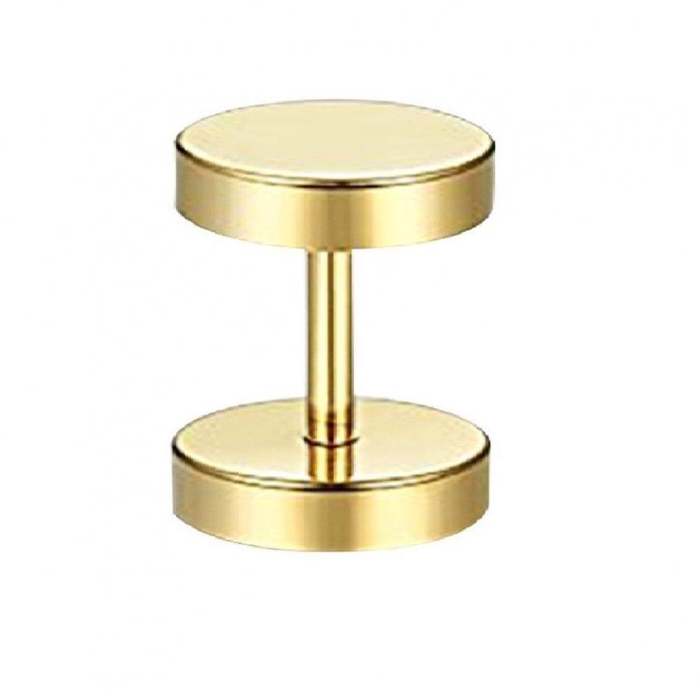 Метален флеш 10 милиметра, златен