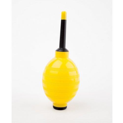 Въздушна помпичка за мигли в жълто