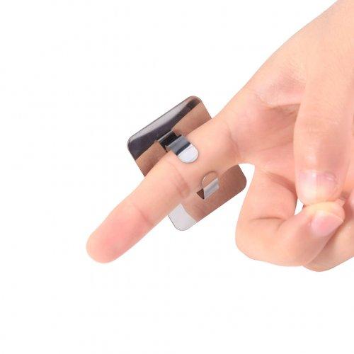 Метална плочка пръстен