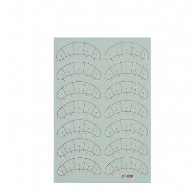 Хартиени пачове за мигли - разграфени