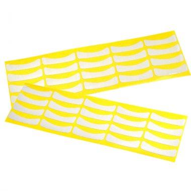 Хартиени пластири за мигли