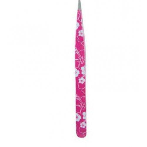 Scissors poitn - права пинцета - розови цветя