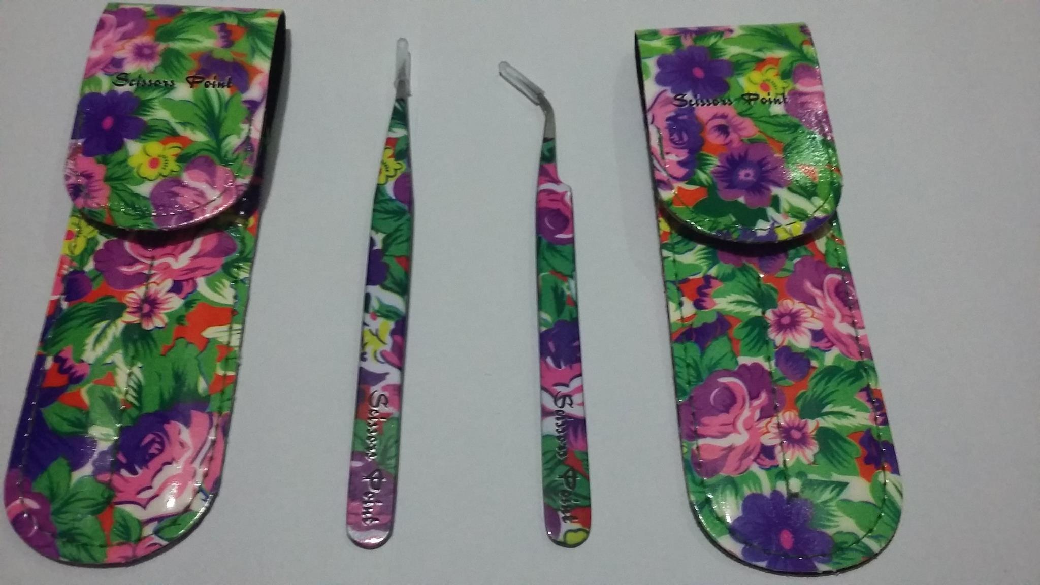 Scissors poitn - комплект пинцети - Пролетна градина