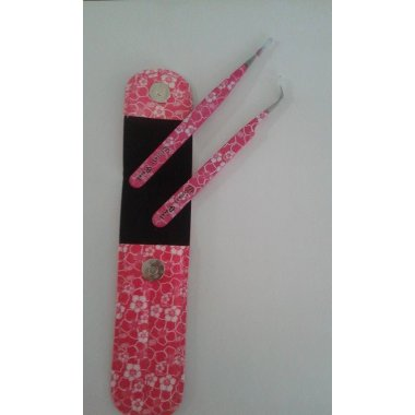 Scissors poitn - комплект пинцети - Розова градина